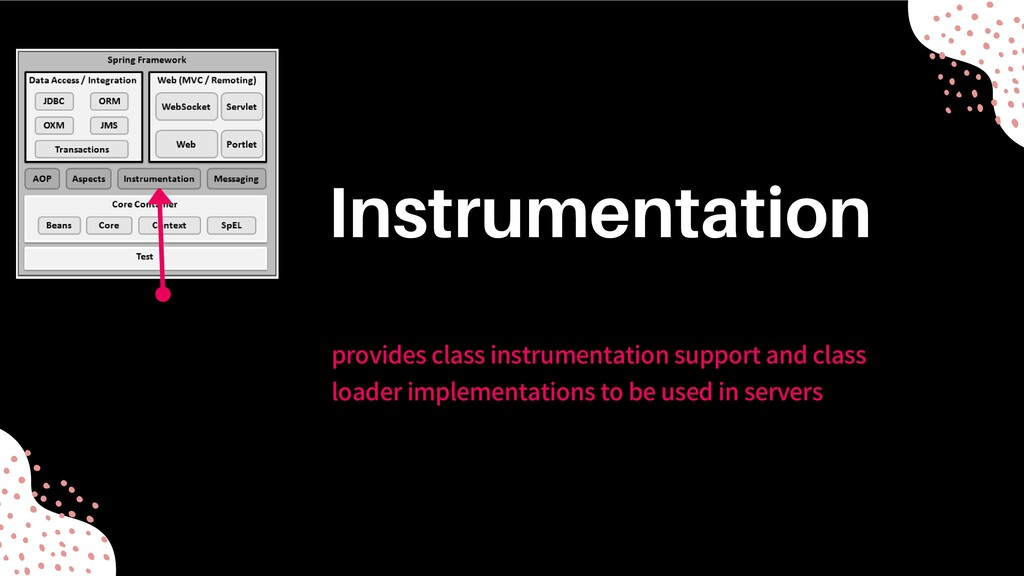 provides class instrumentation support and clas...