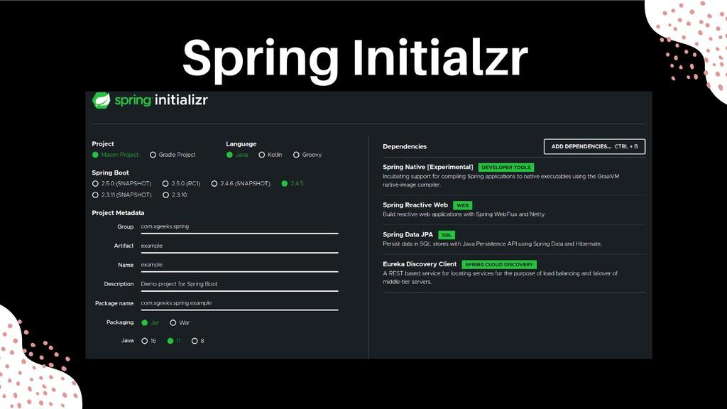Spring Initialzr