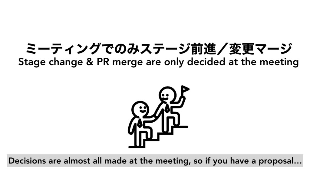 ϛʔςΟϯάͰͷΈεςʔδલਐʗมߋϚʔδ Stage change & PR merge a...