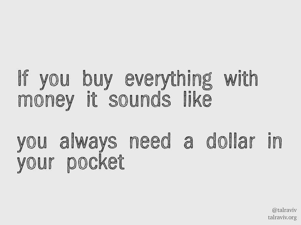 @talraviv talraviv.org If you buy everything wi...
