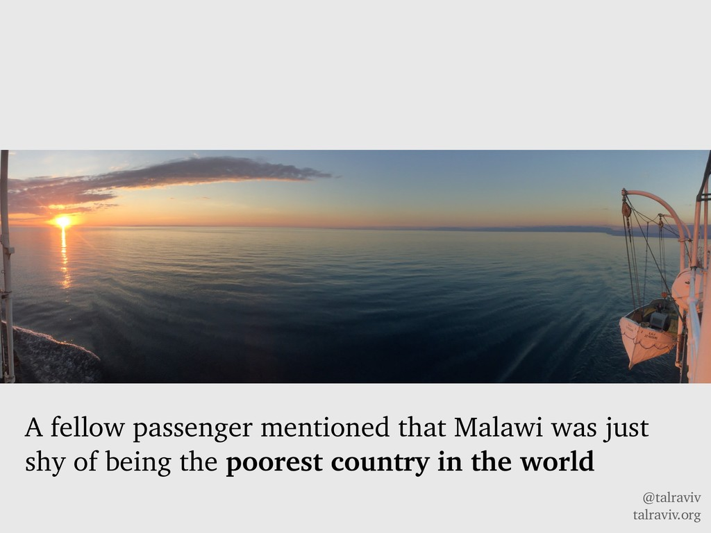 @talraviv talraviv.org A fellow passenger menti...