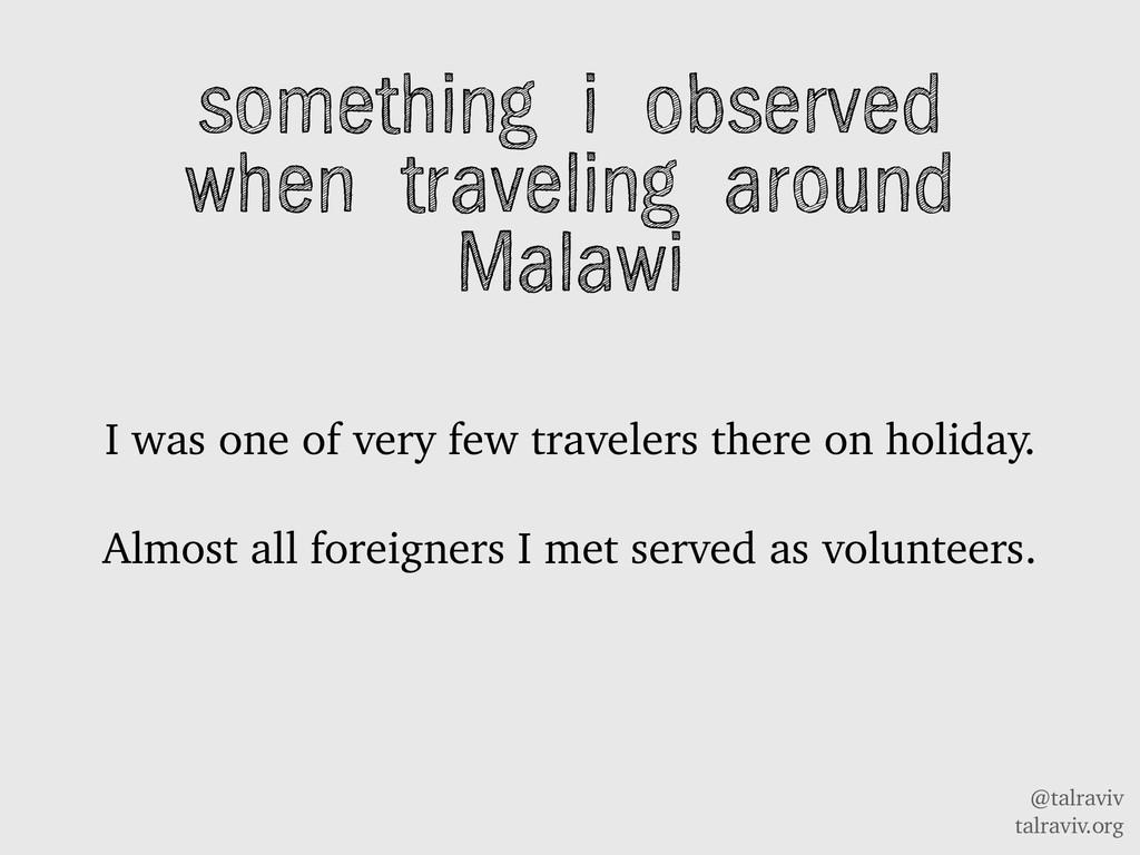 @talraviv talraviv.org something i observed whe...