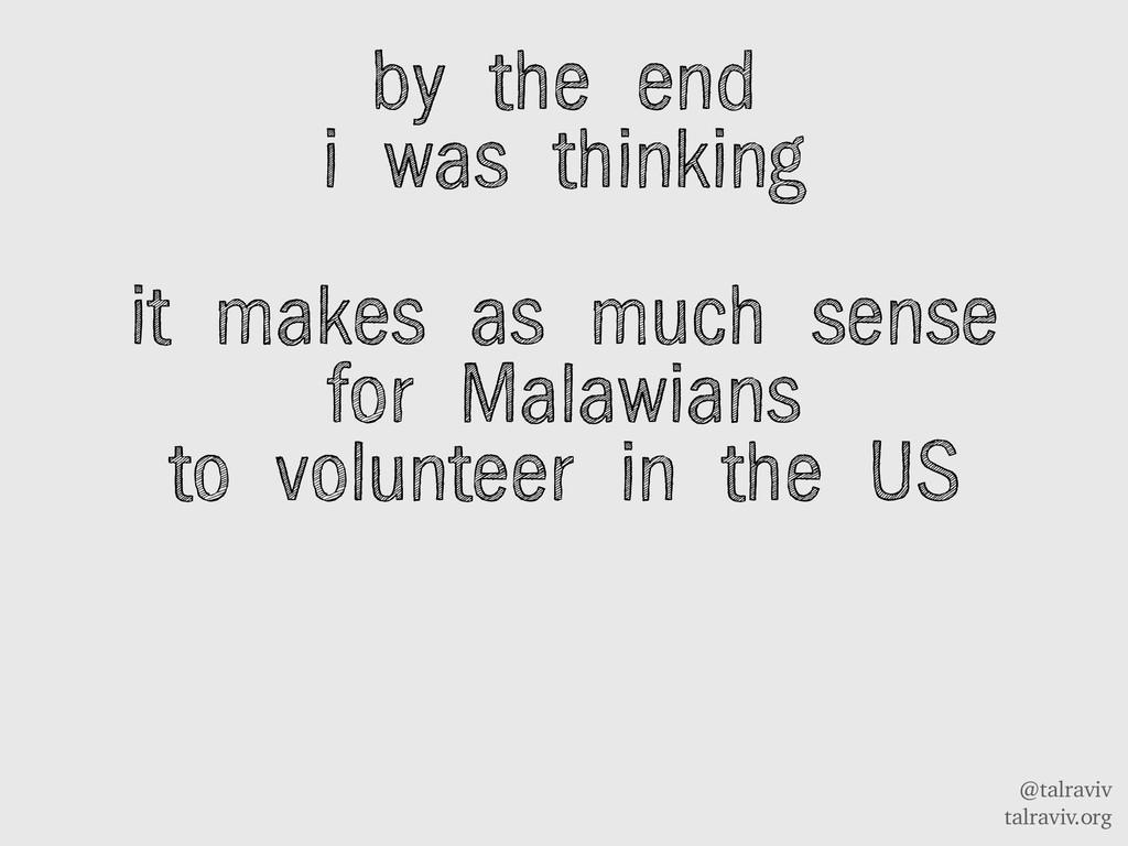 @talraviv talraviv.org by the end i was thinkin...