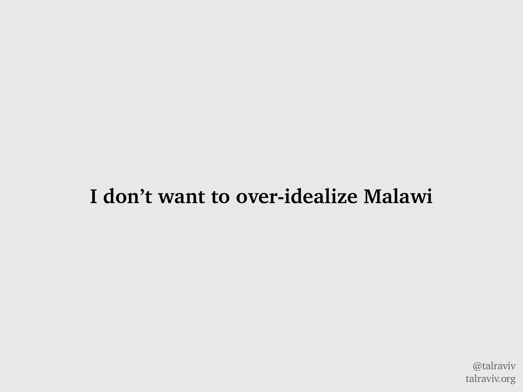 @talraviv talraviv.org I don't want to over-ide...