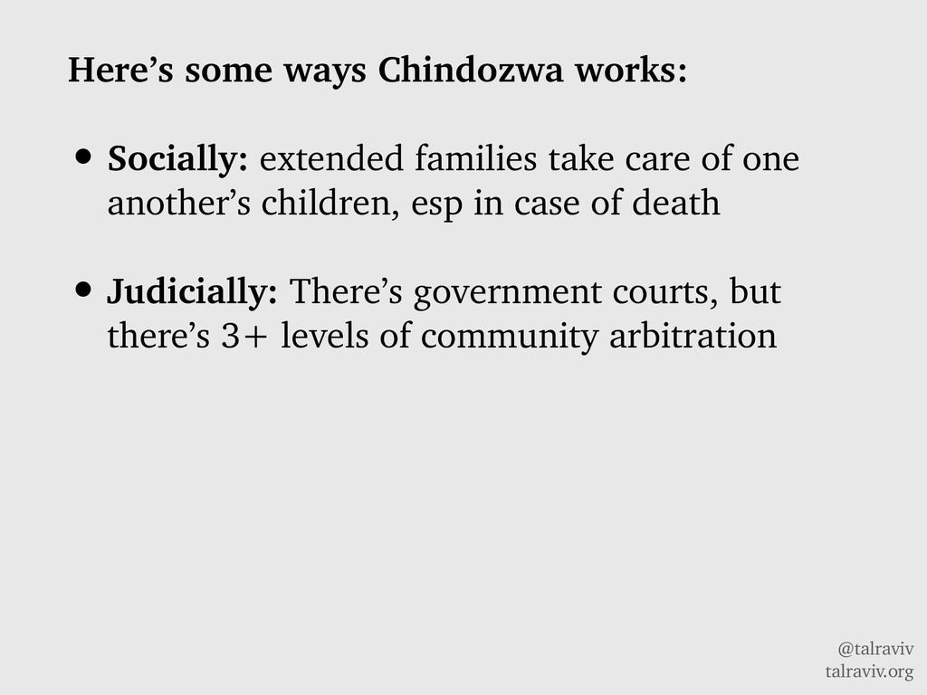 @talraviv talraviv.org Here's some ways Chindoz...