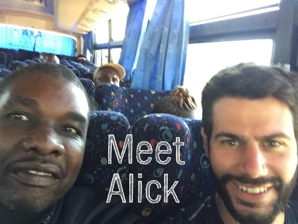 @talraviv talraviv.org Meet Alick