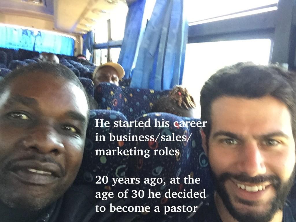 @talraviv talraviv.org He started his career in...