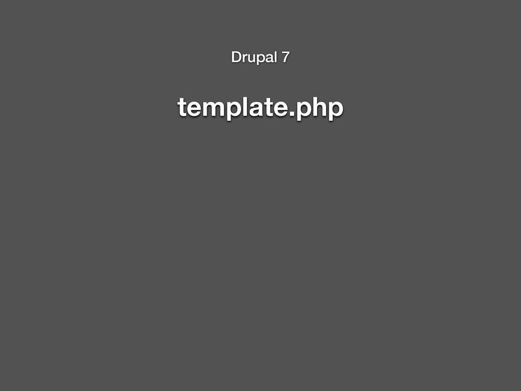 template.php Drupal 7