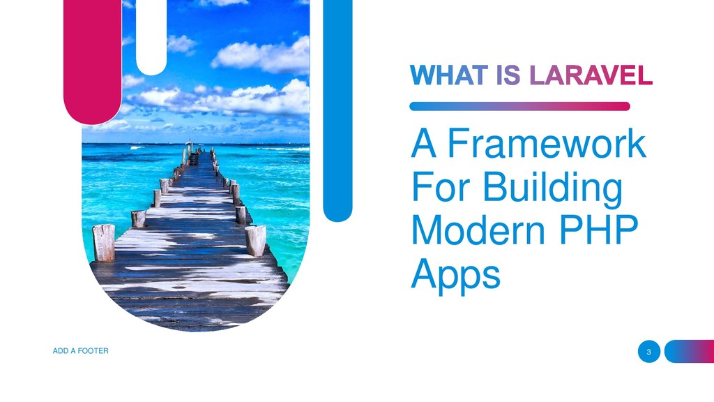 A Framework For Building Modern PHP Apps ADD A ...