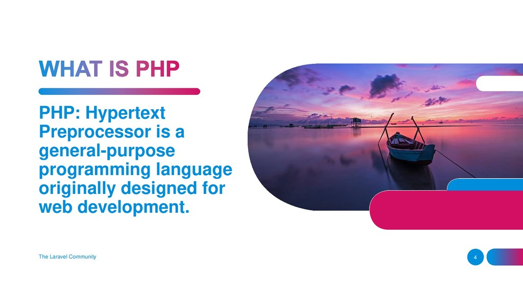 PHP: Hypertext Preprocessor is a general-purpos...