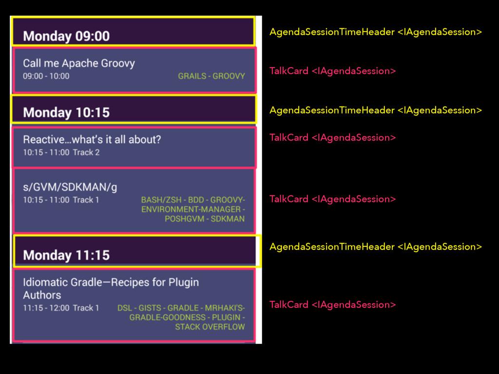 AgendaSessionTimeHeader <IAgendaSession> TalkCa...