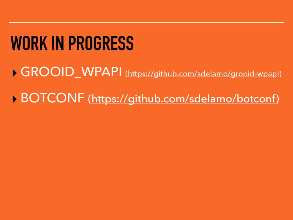 WORK IN PROGRESS ▸ GROOID_WPAPI (https://github...