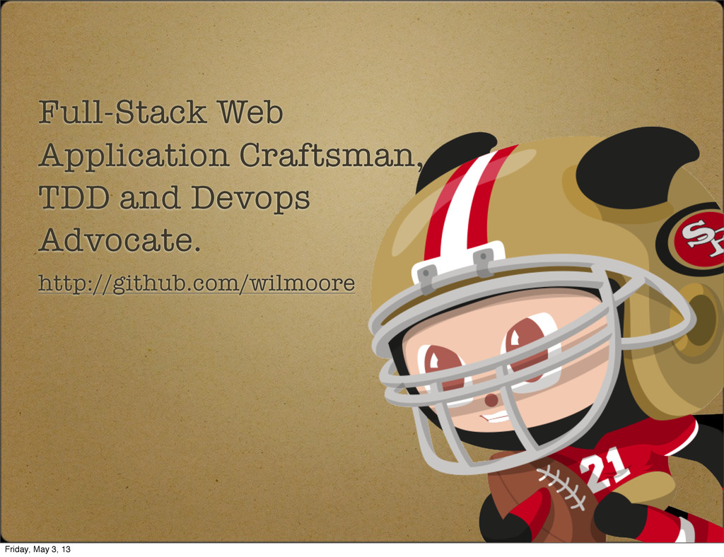Full-Stack Web Application Craftsman, TDD and D...