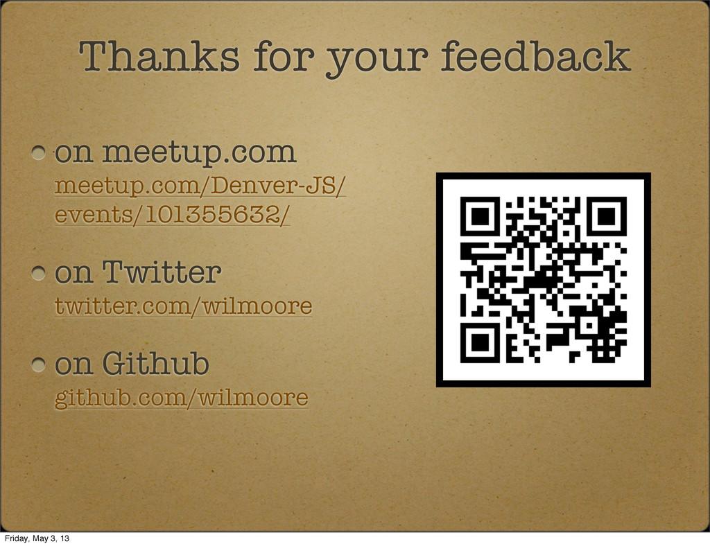on meetup.com meetup.com/Denver-JS/ events/1013...