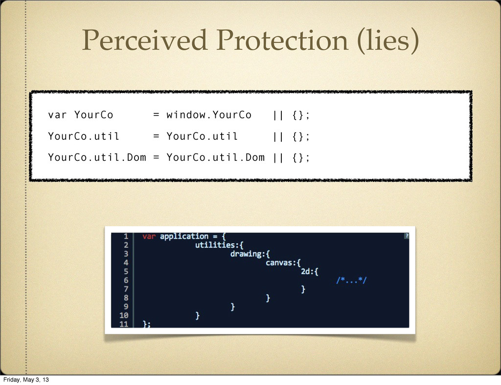 Perceived Protection (lies) var YourCo = window...