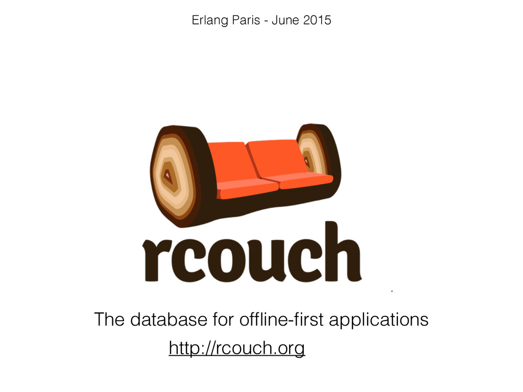 The database for offline-first applications http:...
