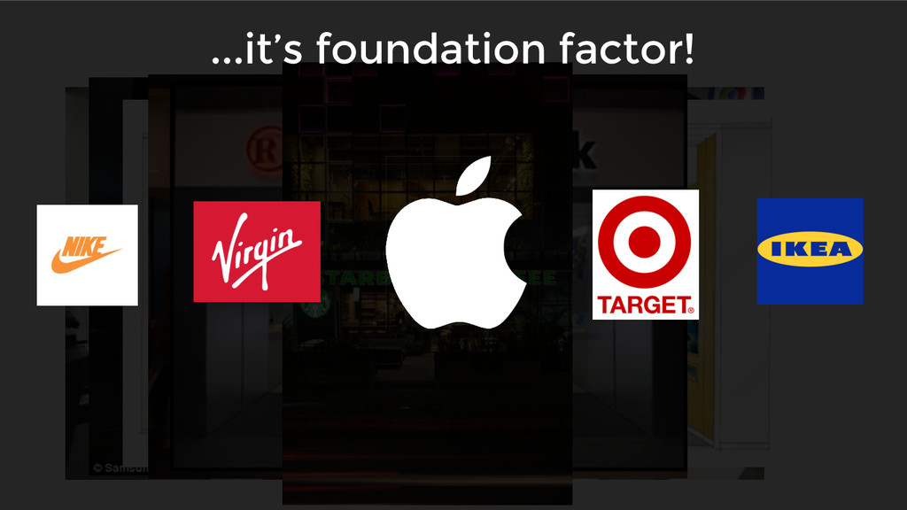 ...it's foundation factor!