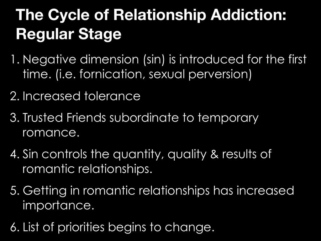 The Cycle of Relationship Addiction: Regular St...
