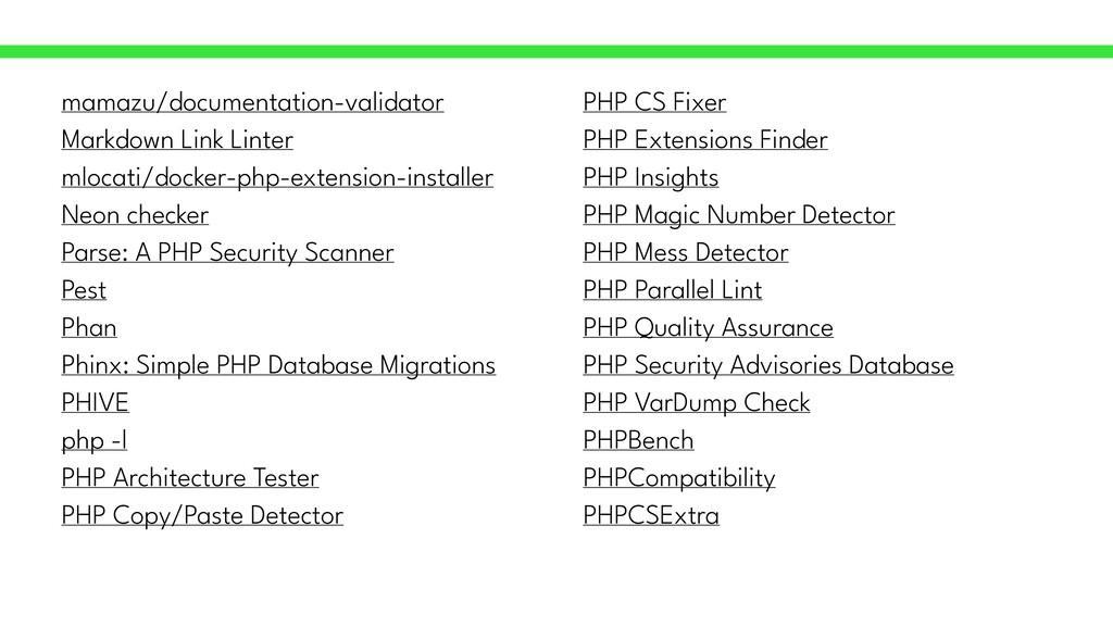 mamazu/documentation-validator   Markdown Link ...