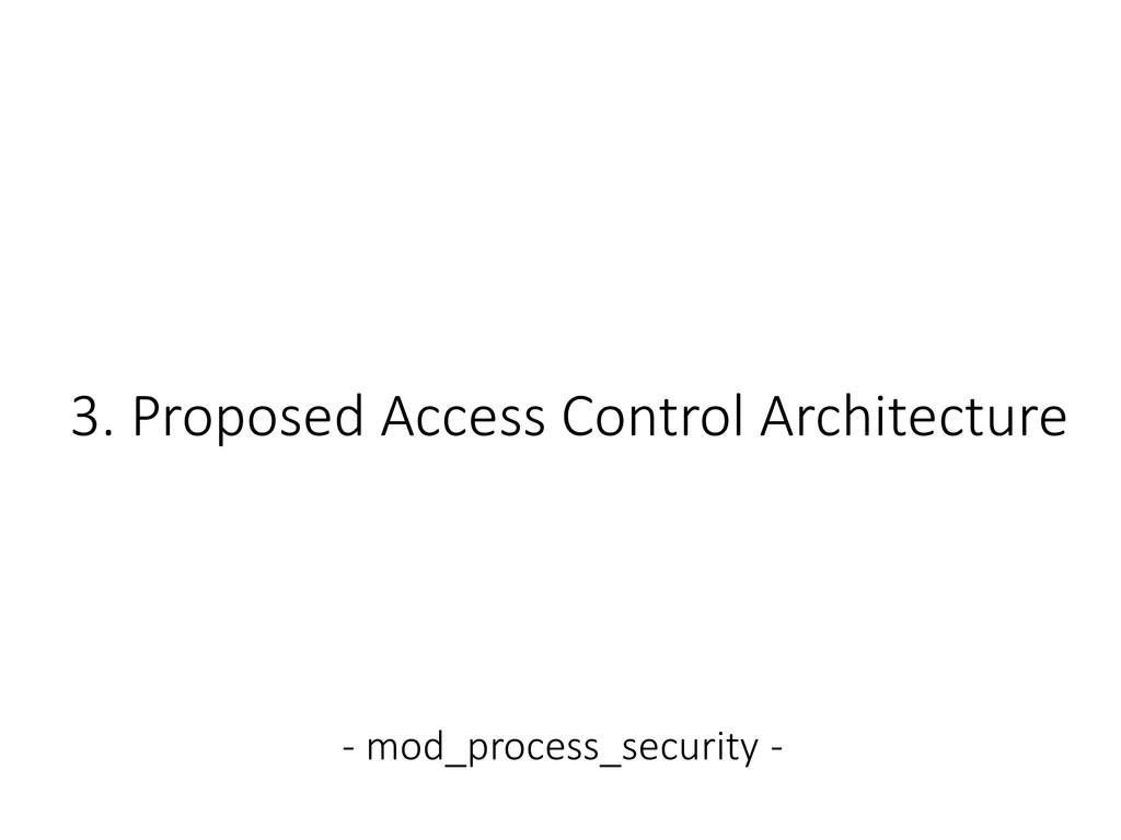 3. Proposed Access Control Architecture - mod_p...
