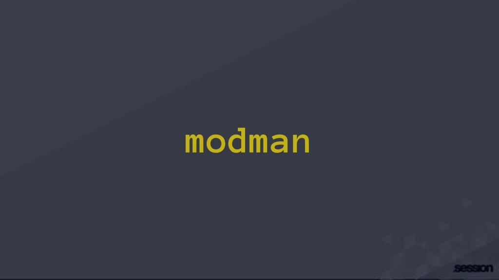 modman
