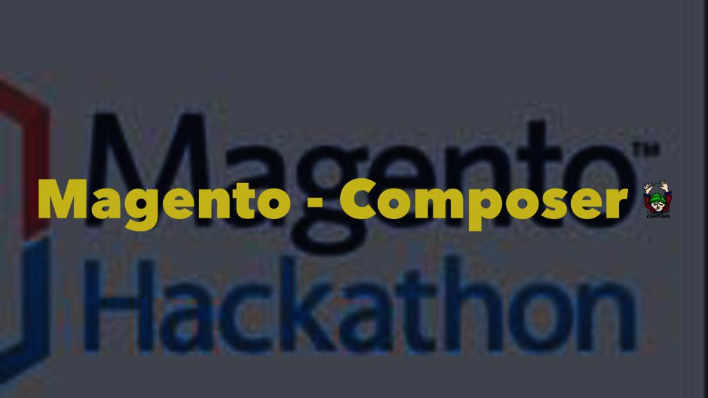 Magento - Composer