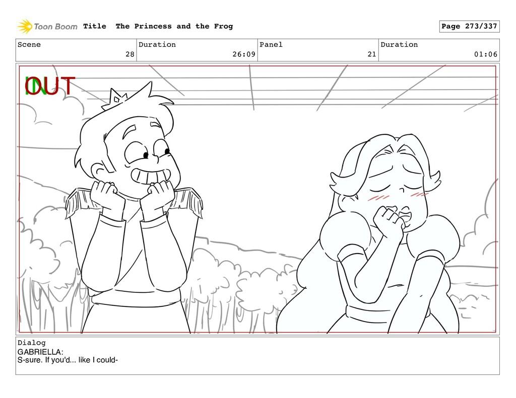 Scene 28 Duration 26:09 Panel 21 Duration 01:06...