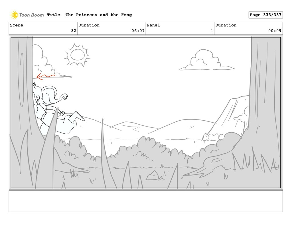 Scene 32 Duration 06:07 Panel 4 Duration 00:09 ...