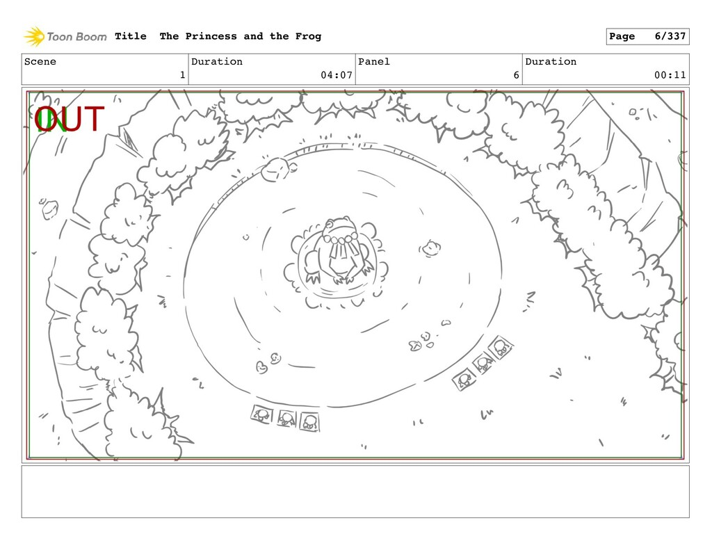 Scene 1 Duration 04:07 Panel 6 Duration 00:11 T...