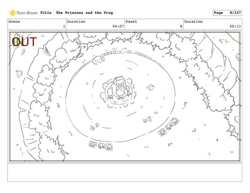 Scene 1 Duration 04:07 Panel 8 Duration 00:11 T...