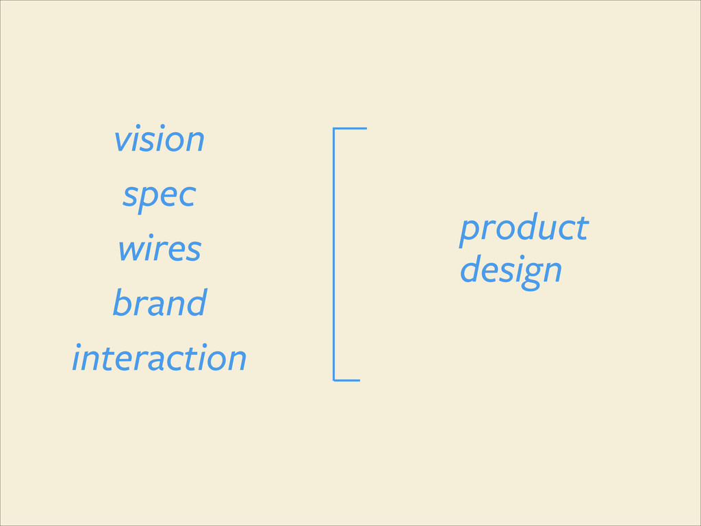 spec vision wires interaction brand product des...