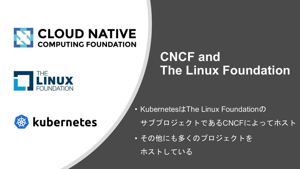 CNCF and The Linux Foundation • KubernetesThe ...