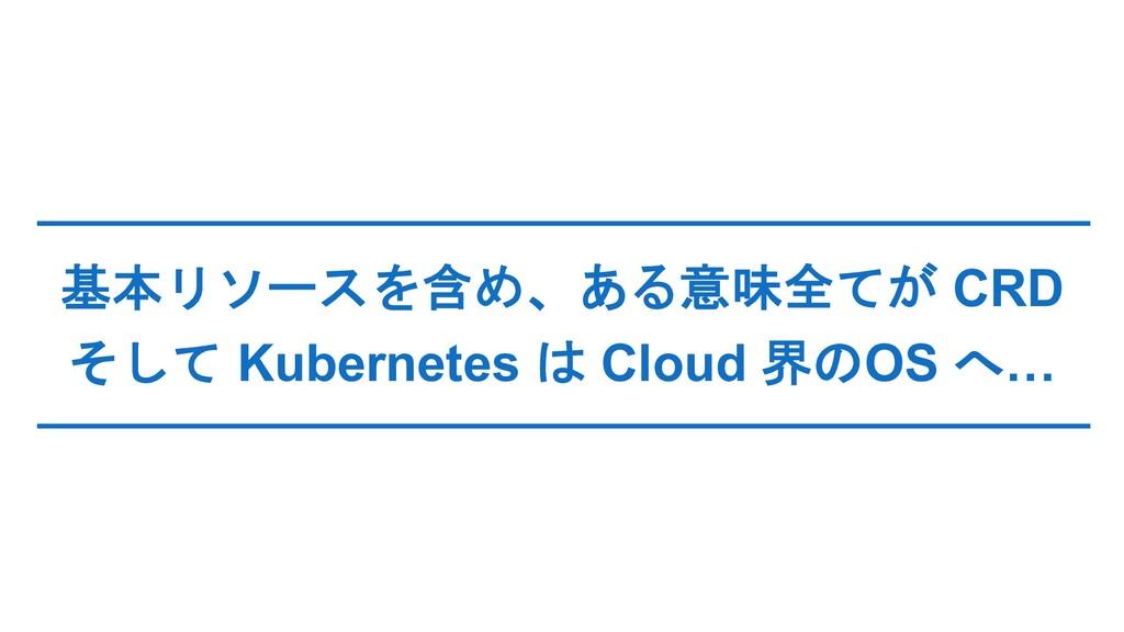 CRD  Kubernetes  Cloud ...