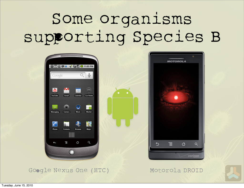 Some organisms su orting Species B G gle Nexus ...
