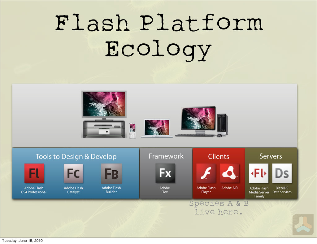 Flash Platform Ecology Tools to Design & Develo...