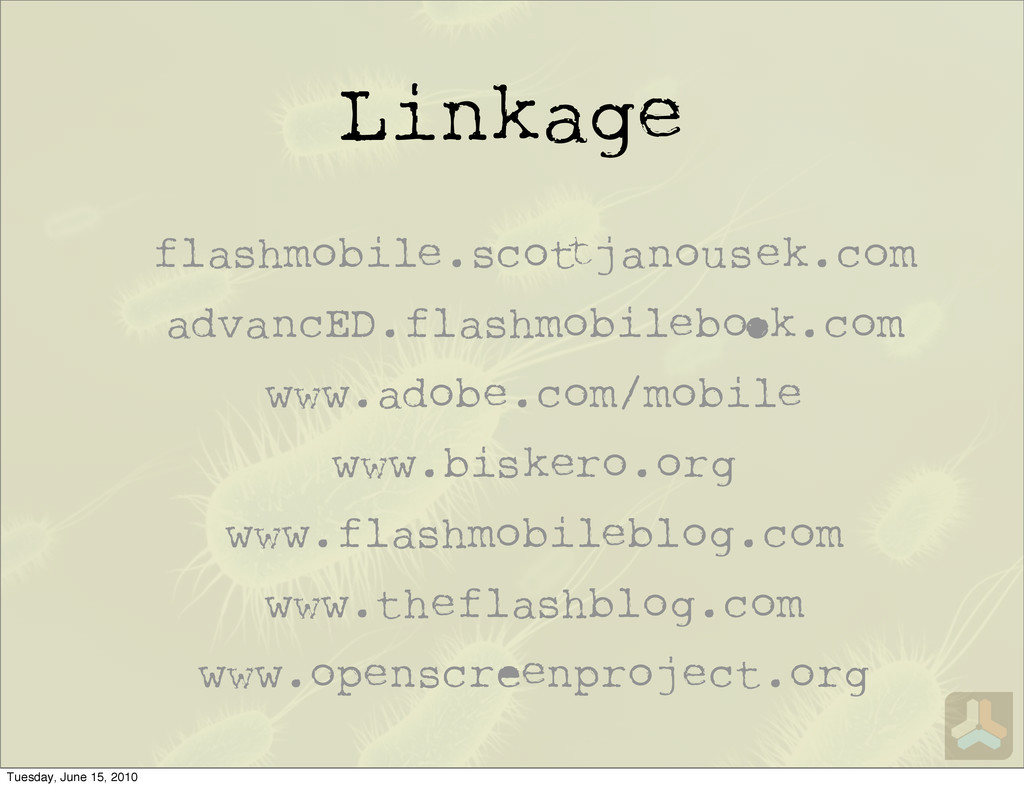 Linkage flashmobile.sco janousek.com advancED.f...