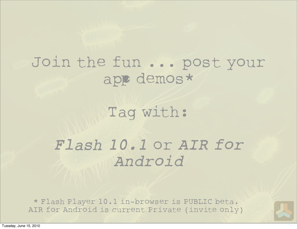Join the fun ... post your a demos* Tag with: F...