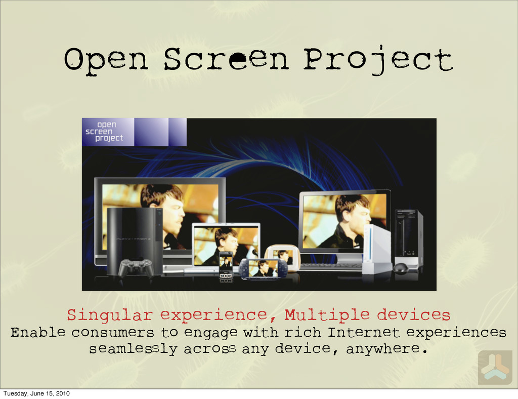 Open Scr n Project Singular experience, Multipl...