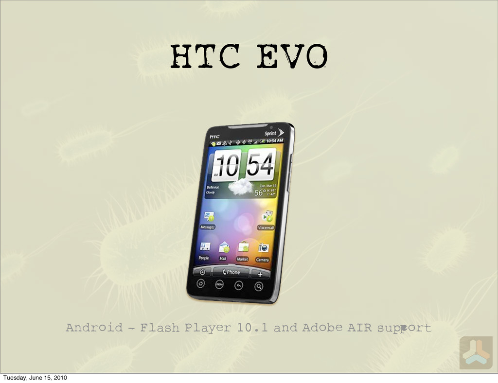 HTC EVO Android - Flash Player 10.1 and Adobe A...