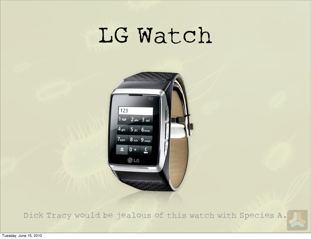 LG Watch Dick Tracy would be jealous of this wa...