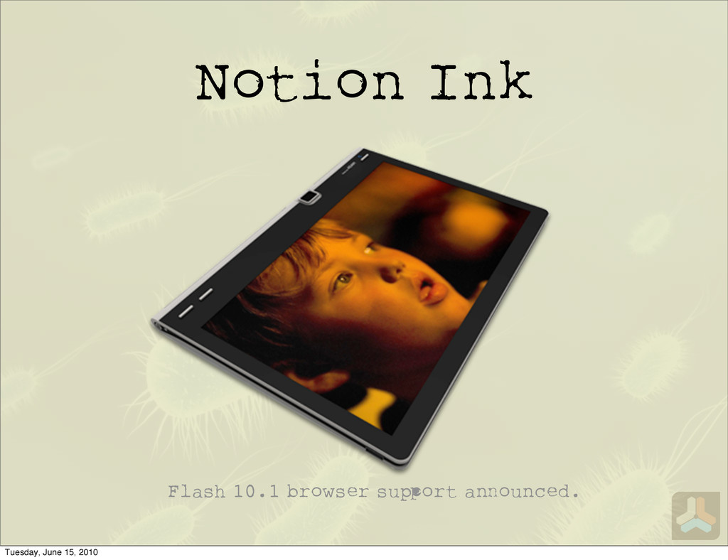 Notion Ink Flash 10.1 browser su ort a ounced. ...