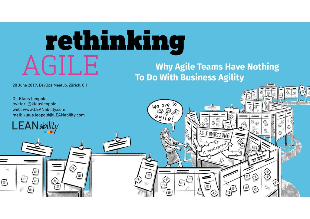 Why Agile Teams Have Nothing rethinking AGILE T...