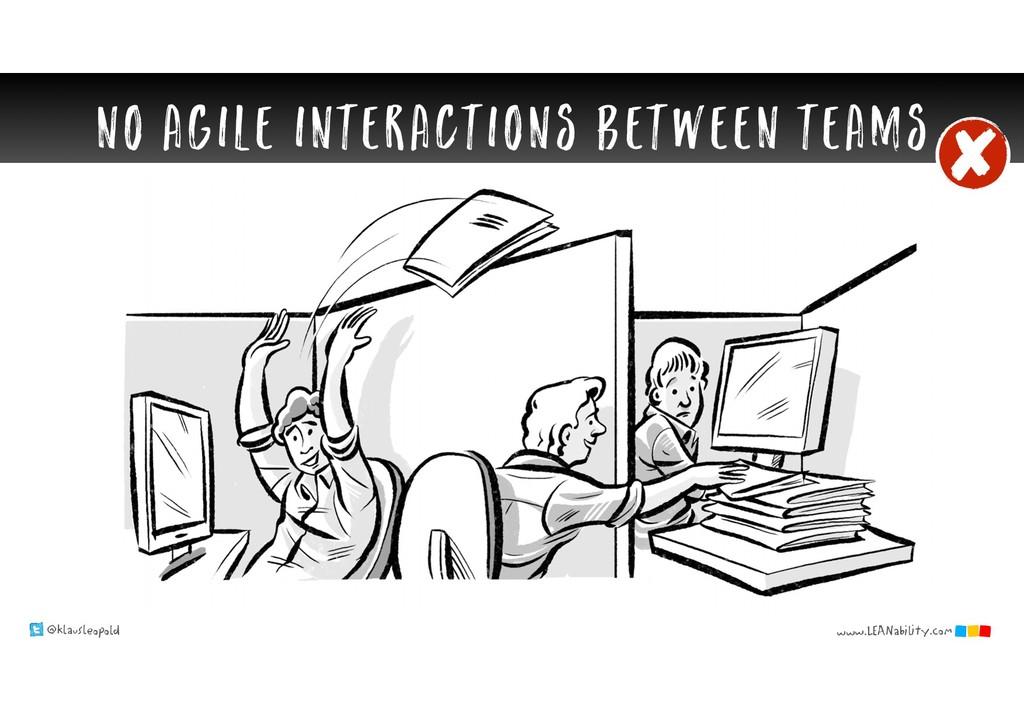 @klausleopold www.LEANability.com NO agile inte...