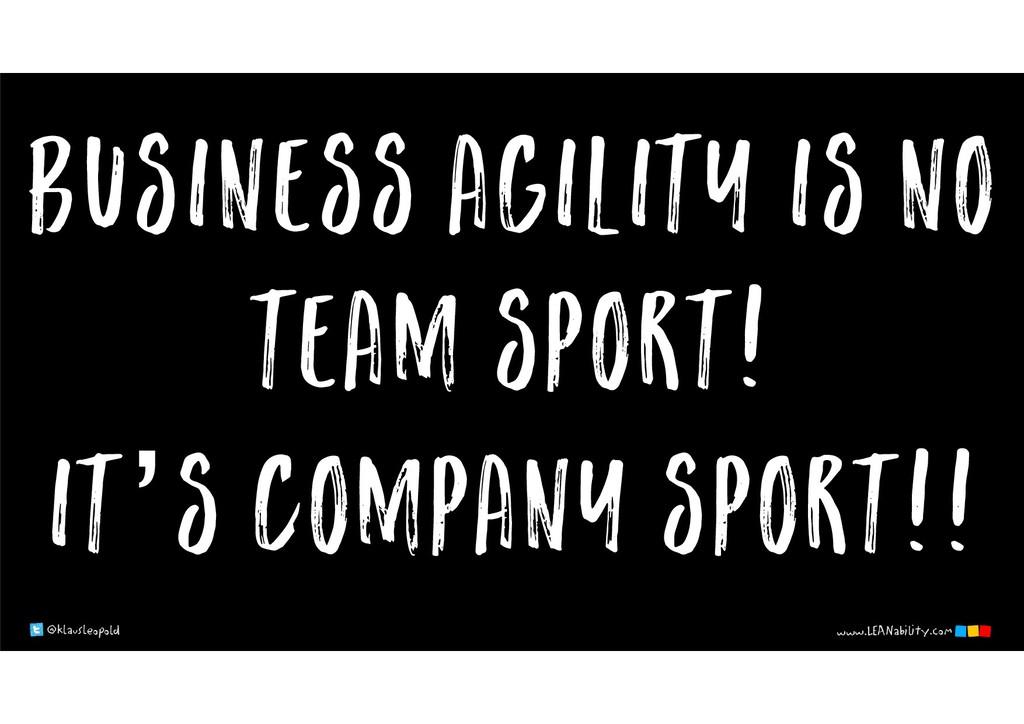 @klausleopold www.LEANability.com business agil...