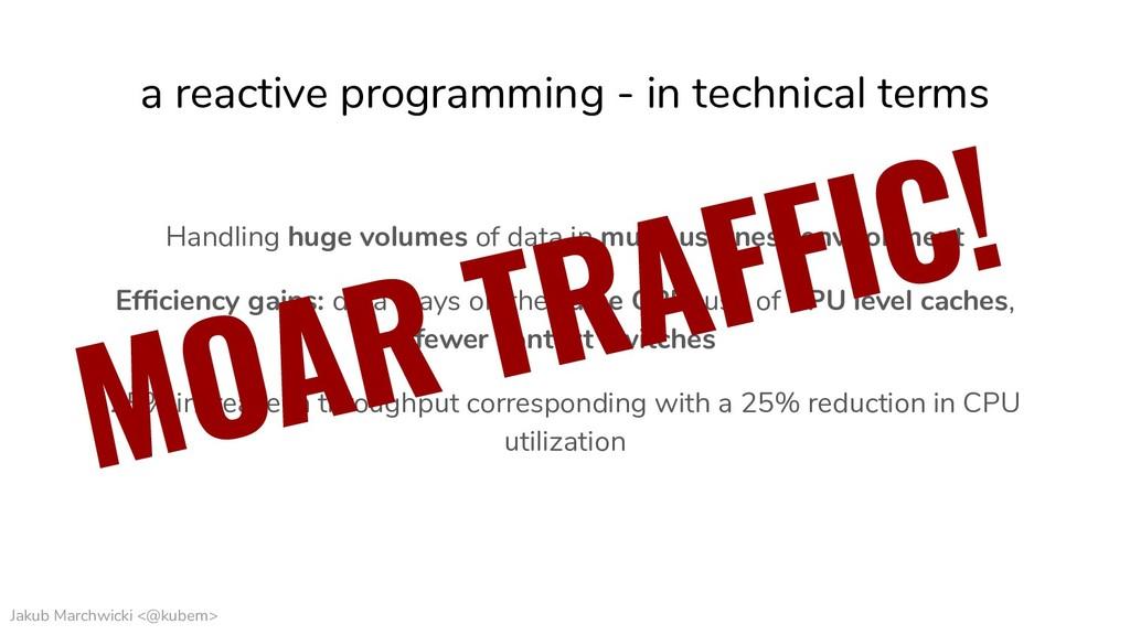 Jakub Marchwicki <@kubem> a reactive programmin...