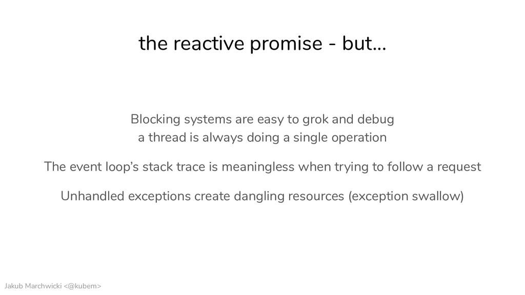 Jakub Marchwicki <@kubem> the reactive promise ...