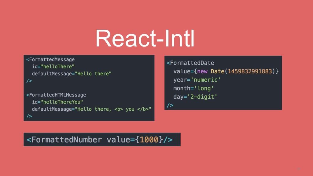 20 React-Intl