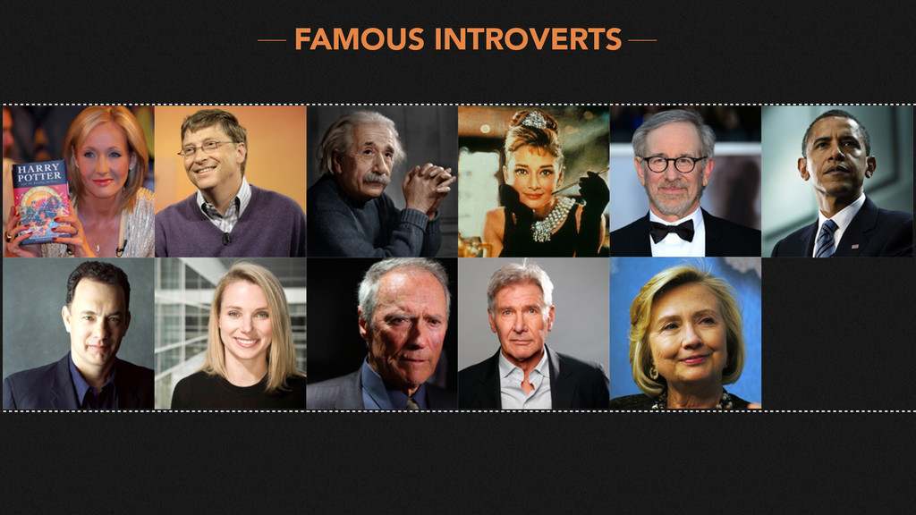 FAMOUS INTROVERTS