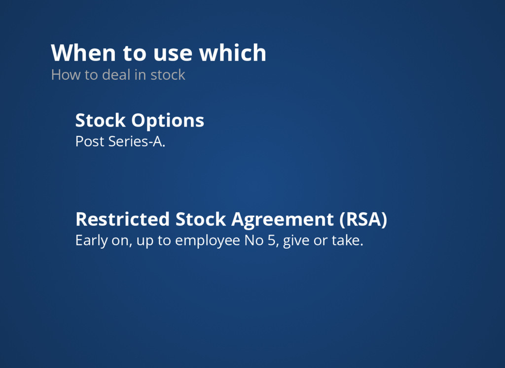 When to use which How to deal in stock Stock Op...