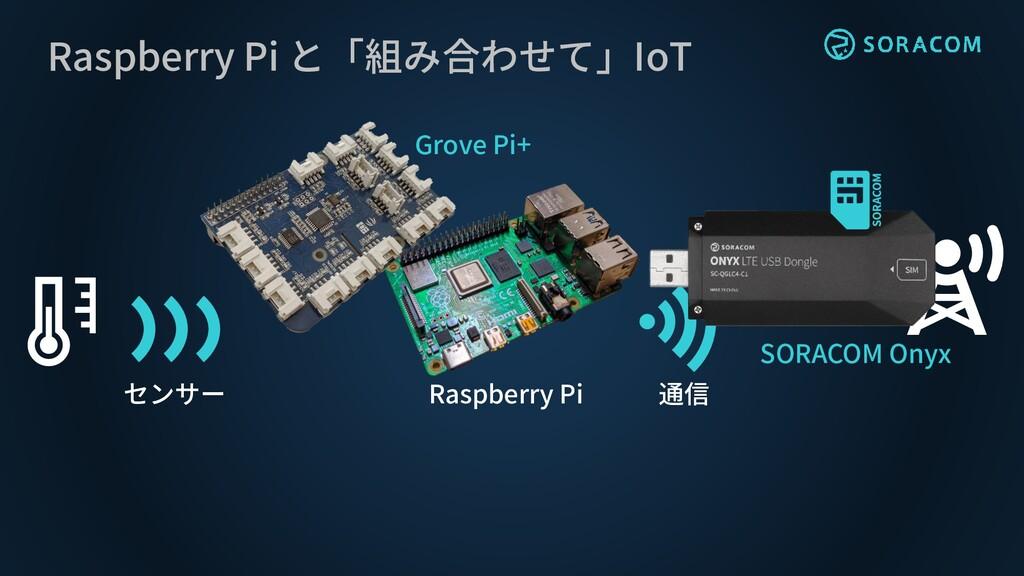 Raspberry Pi と「組み合わせて」IoT センサー 通信 Raspberry Pi ...